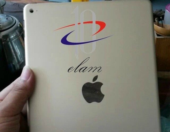 iPad Air2にもNFC搭載か!?背面ケースのアップルロゴにくり抜き!