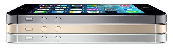 iPhone5sの3色展開