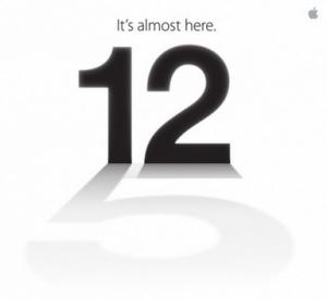iphone5 招待状