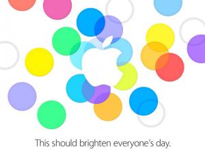 iphone5s 招待状
