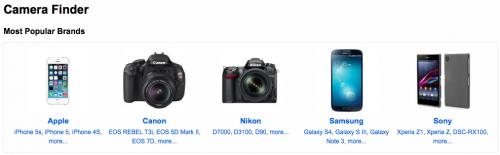 Flickrに使われているカメラ一覧