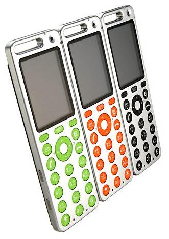auのデザイン携帯「talby」