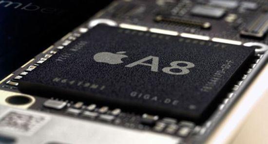iPhone6/6 Plusに搭載されるA8プロセッサ