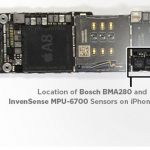 iPhone6 加速度センサー