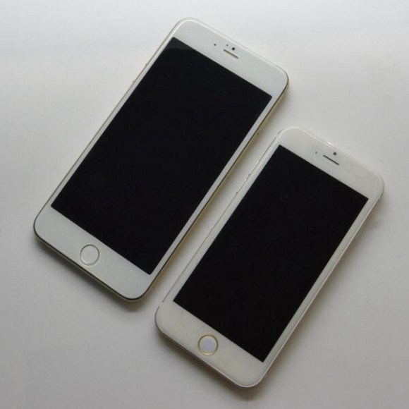iPhone6の4.7インチと5.5インチモデル