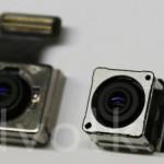 Phone6(5.5インチ)、とiPhone5sのカメラモジュール