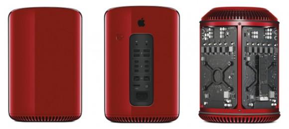 MacPro レッド Apple