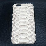 iPhone6 蛇革ケース