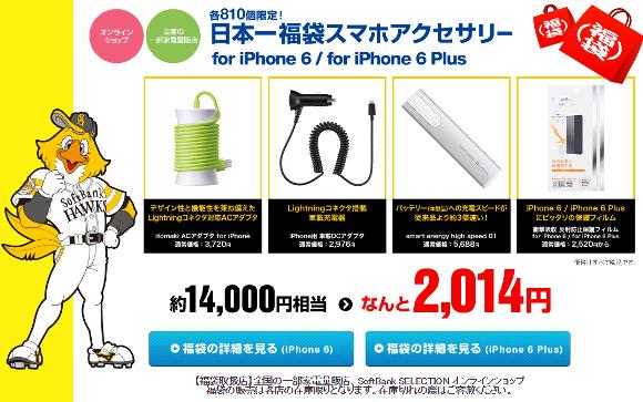 iPhone6/6 Plus用アクセサリー福袋