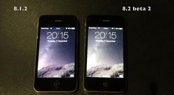 iPhone4s iOS8.2