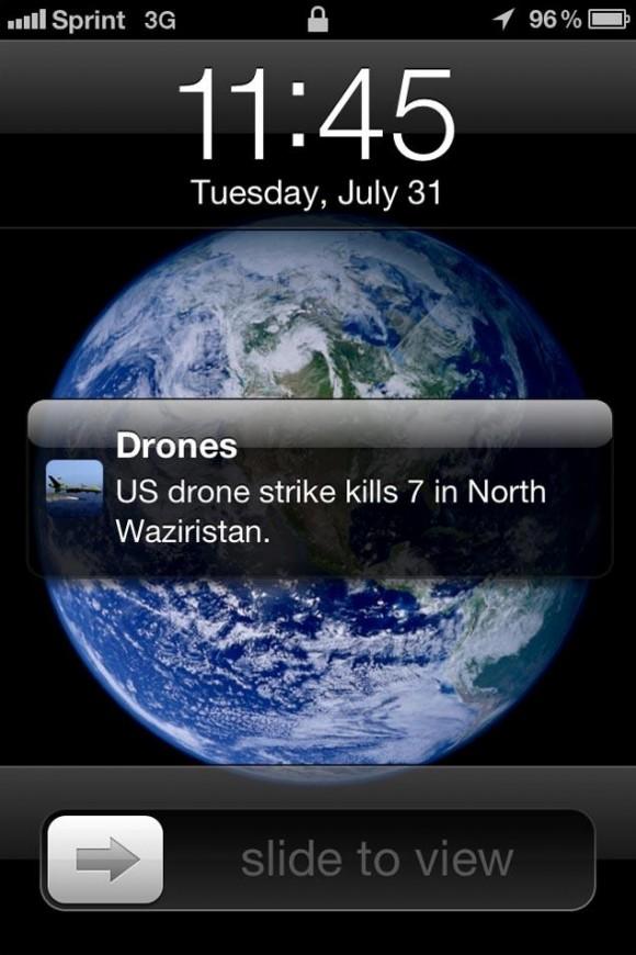 Drone Strike Alert