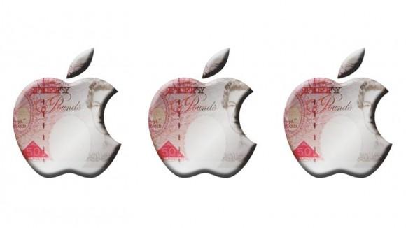 アップル 利益