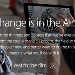 Apple iPad Air 2  Change is in the Air.