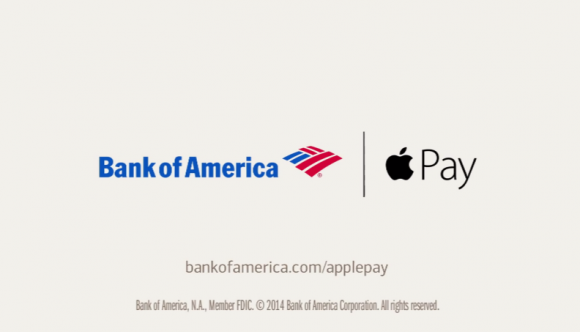 Bank of America + Apple Pay