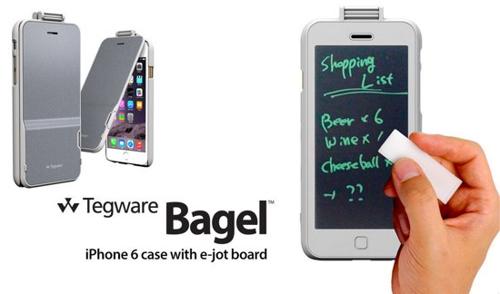 photos from iphone to pc 電子メモパッド一体型iphone6ケースが画期的 tegware bagel 360 発売中 iphone mania 2660
