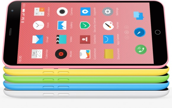 M1note iPhone5c