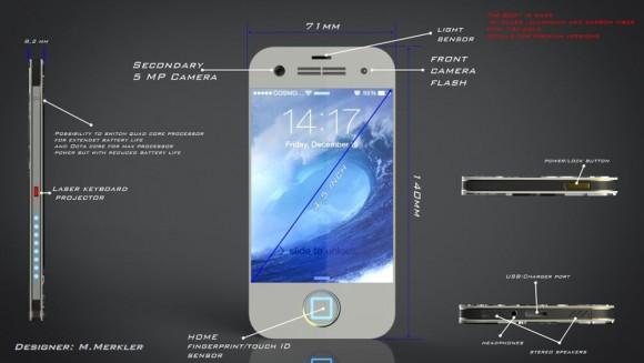 iPhone8コンセプト