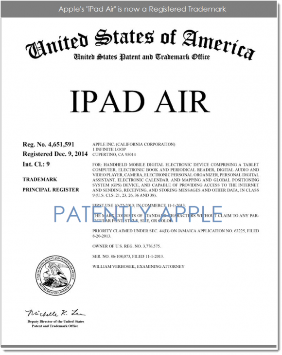 iPad Air登録