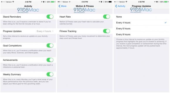 Apple Watch iPhone アプリ