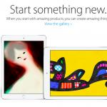 Apple 新しい何かをはじめよう