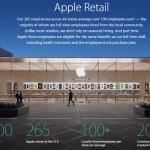 Apple 雇用 労働者 アメリカ