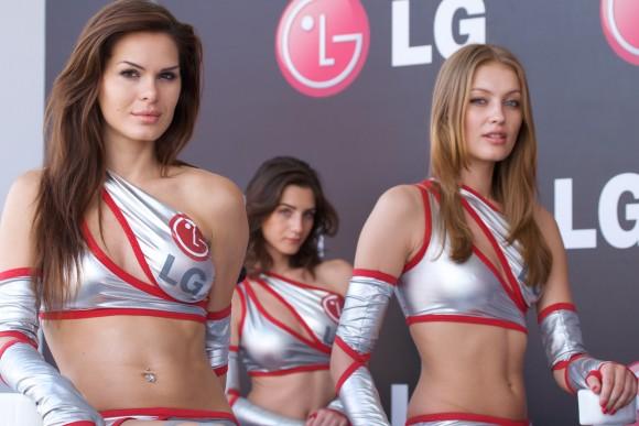 LG シェア 成長 アップル