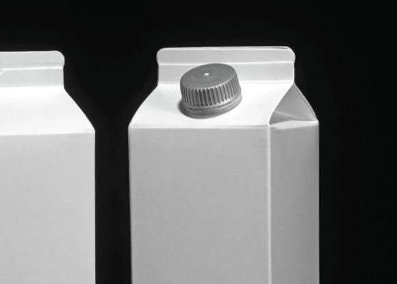 Appleがデザインした牛乳パック「iMilk」