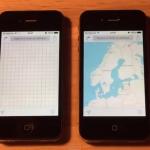 iOS 8.1.3 動作比較 iPhone4s