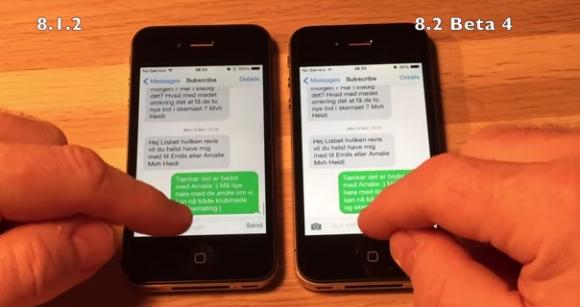 iOS 8.2 Beta 4iPhone 4S