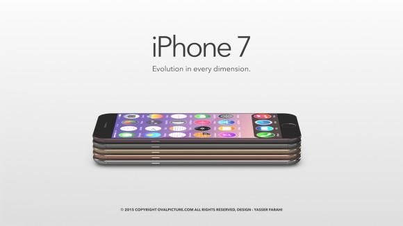 2016年9月にリリースが予想されるiPhone7のコンセプトデザイン