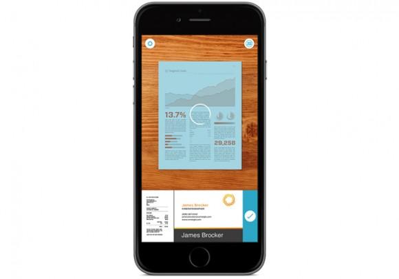 iPhoneを高機能スキャナにする無料アプリ「Scannable」を発表