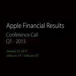 Apple 業績発表 2014年