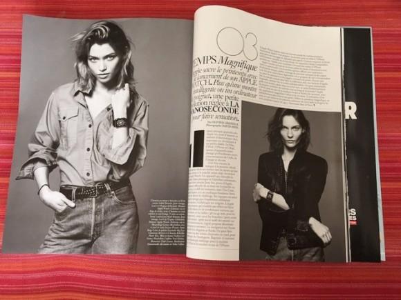 Vogue パリ AppleWatch