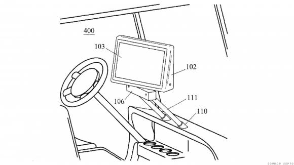 iphone 特許 電気自動車