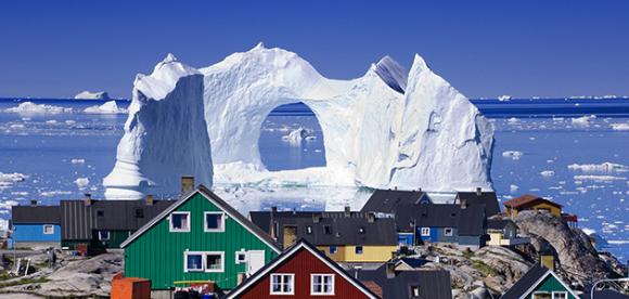 グリーンランド 氷河 googleマップ