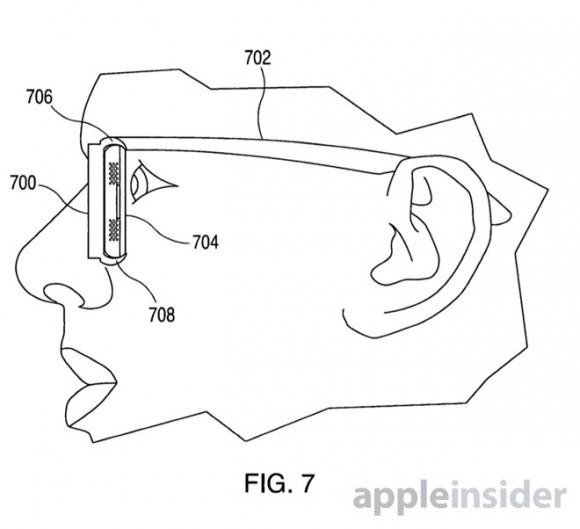 アップル、iPhoneをヘッドマウントディスプレイ化する特許取得!