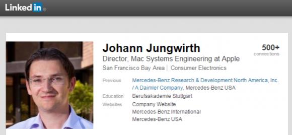 Johann Jungwirth氏