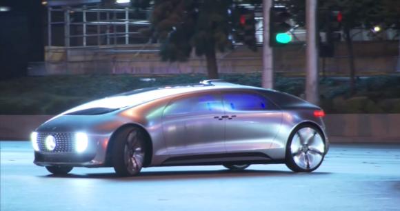 メルセデスベンツが今年1月のCESで公開したコンセプトカー「F015」