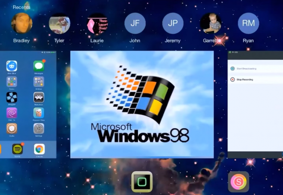 Windows 98  iPad