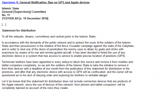 iphone 禁止 isis