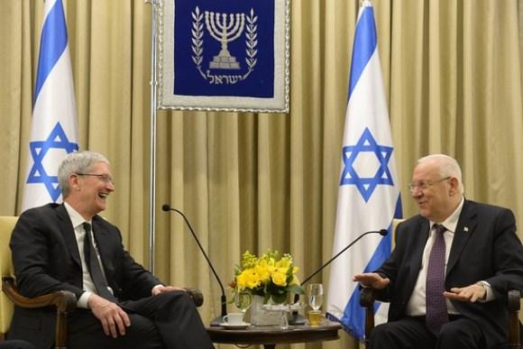 クックCEO、イスラエルのリブリン大統領と面談