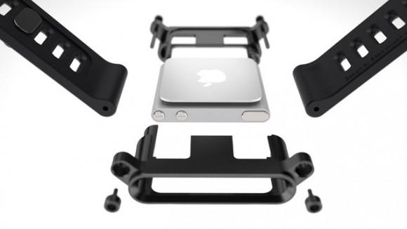 iPod nanoを腕時計のように使えるアクセサリ