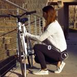 自転車ロック iPhone