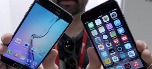 iPhone6 galaxy s6