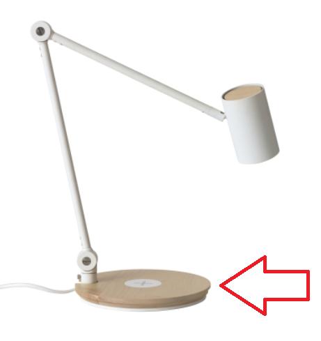 IKEA Qi ワイヤレス充電