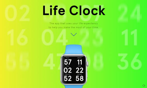 Apple Watchで余命をカウントダウンするアプリ「Life Clock」