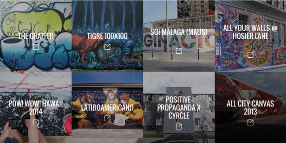 Googleアートプロジェクト ストリートアート 画像