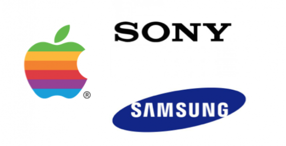 Apple samsung sony