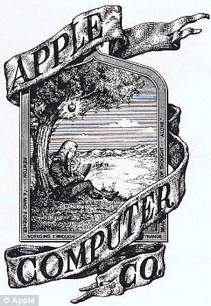 創業時のAppleロゴ
