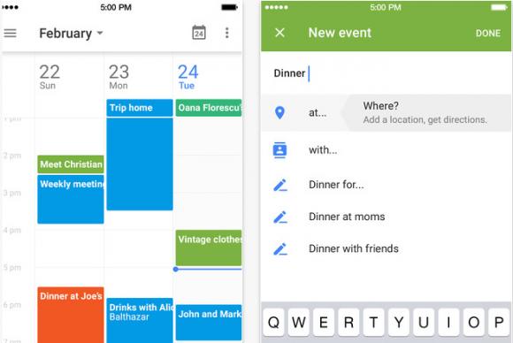 Googleカレンダー iPhoneアプリ